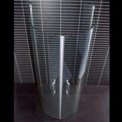 Arrow Free U-duschvägg klarglas