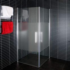 Arrow Corner duschhörna delvis frostat glas