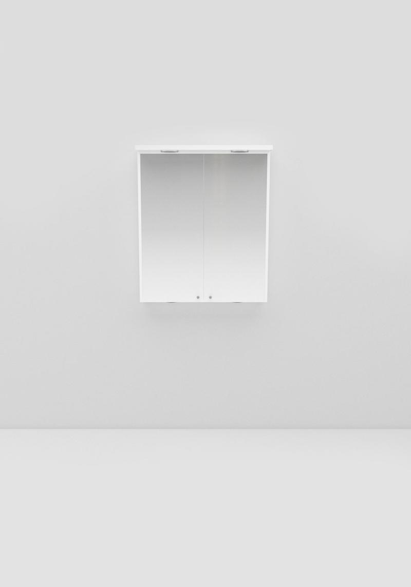 Noro Spegelskåp Polo 600 Vit Led