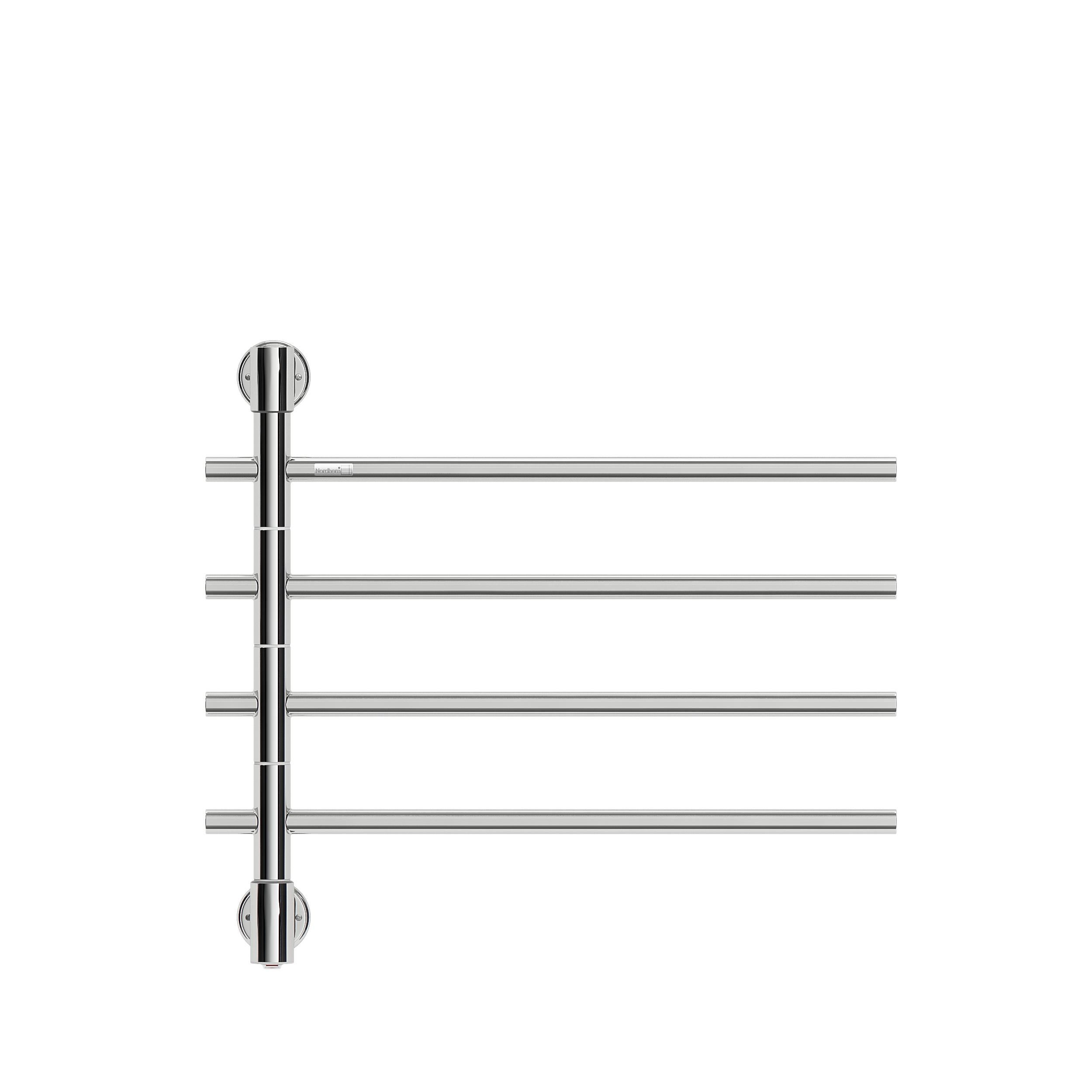 Nordhem handdukstork Fiskebäck rostfri el 595x540 4 armar