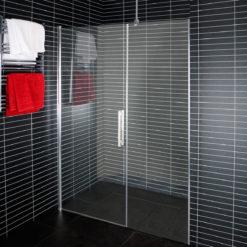 Arrow Duschvägg/Dörr Line Klart Glas