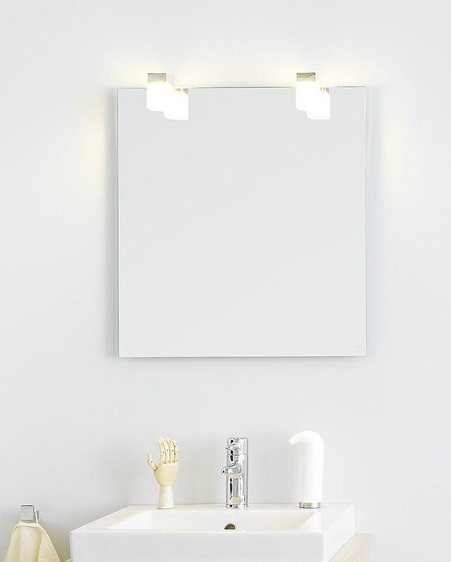 Gustavsberg Badrumsspegel med belysning Artic - 45 cm