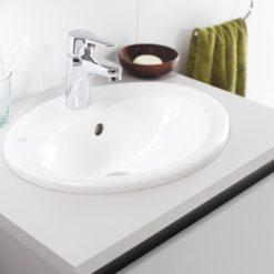 Gustavsberg Tvättställ Nautic 5555 - för inbyggnad 55 cm