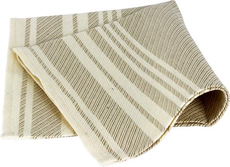 Demerx Sittunderlag Ljus med smårandigt mönster 40x53 cm