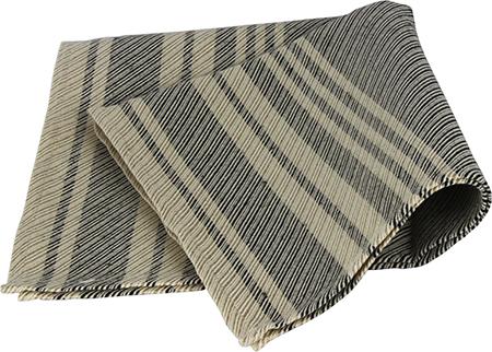 Demerx Sittunderlag Mörk med smårandigt mönster 40x53 cm