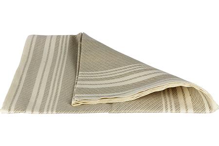 Demerx Sittunderlag Ljus med smårandigt mönster 50x150 cm
