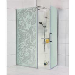 duschhörn med mönster