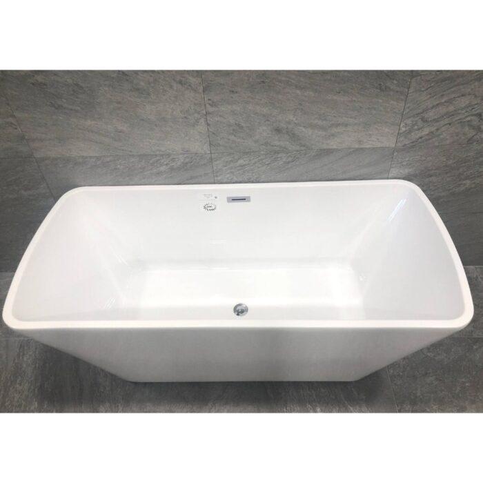 Badkar 170 cm QBad Comfort Vit