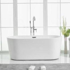 badkar fristående 150 165 cm
