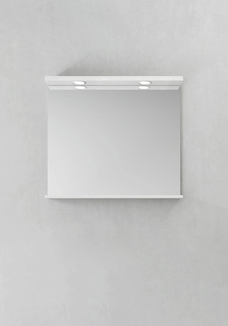 Hafa Spegel Store Ledspots Vit 800
