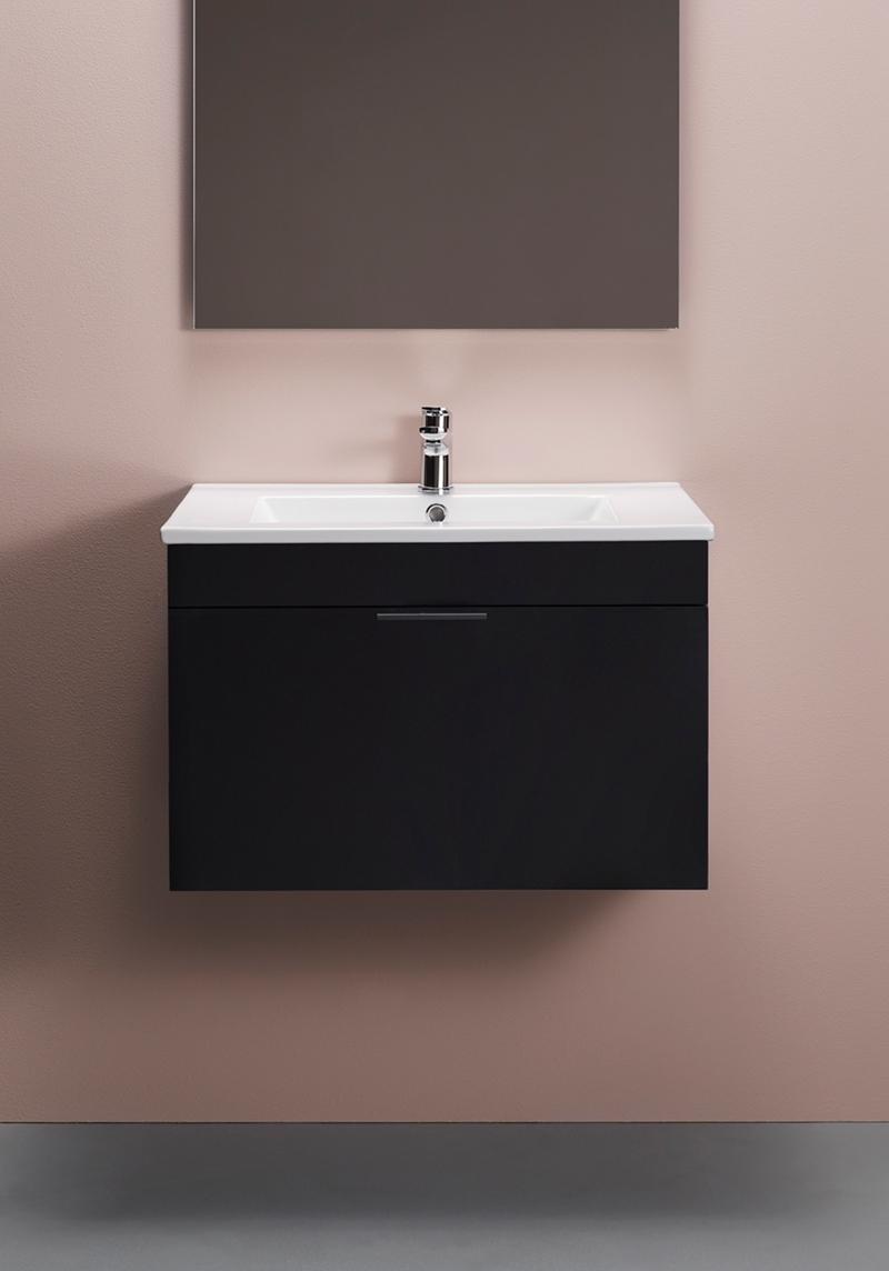 Hafa Go Compact Tvättställsskåp 600 Svart