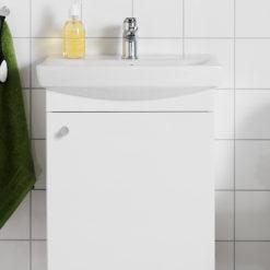 Hafa Life Tvättställsskåp 500 Vit M Lucka
