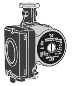 Nibe Cirkulationspump Cpd 11-25/65