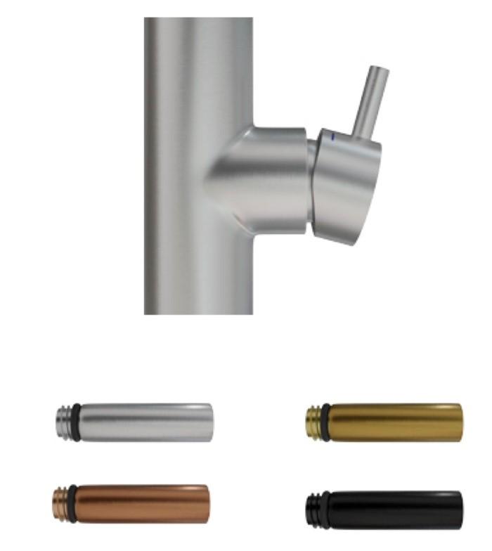 Primy Steel Handtag till blandare Short bar Original