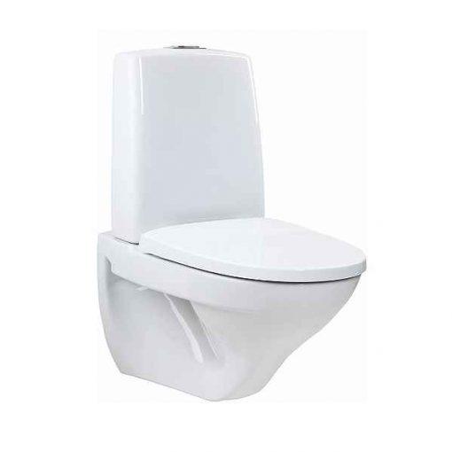Vägghängd toalett