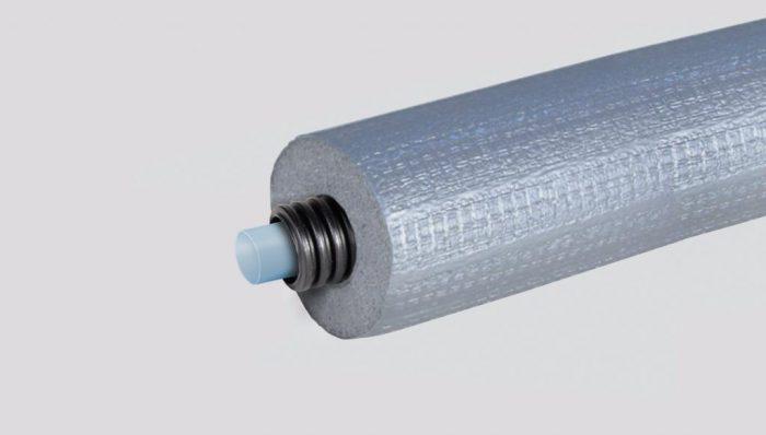 Fränkische alupex rör-i-rör 16x2,0mm 9mm isolering