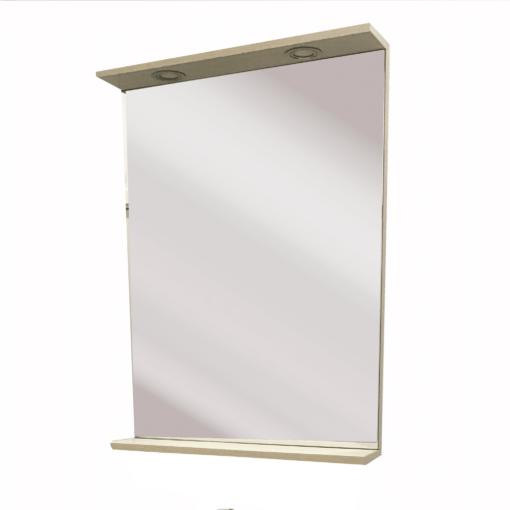 QBad Borgholm Spegel med integrerar belysning 60 cm