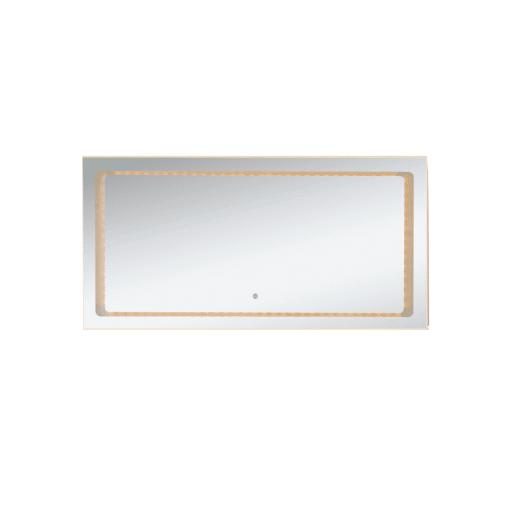 QBad Rosvik Spegel med integrerad LED-belysning, 120 cm