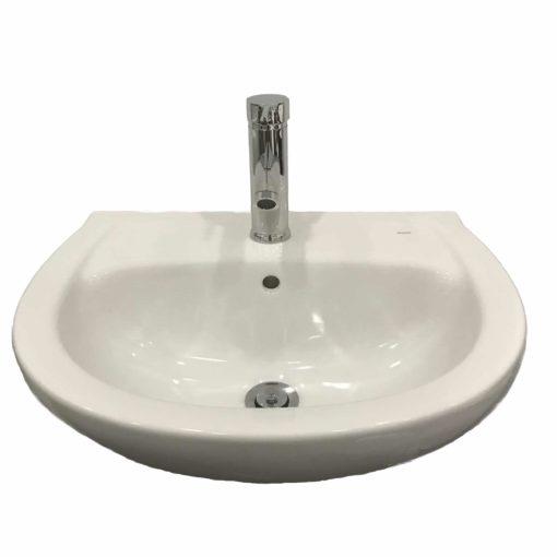 QBad Basic Tvättställ 51 cm, bultmontage ingår