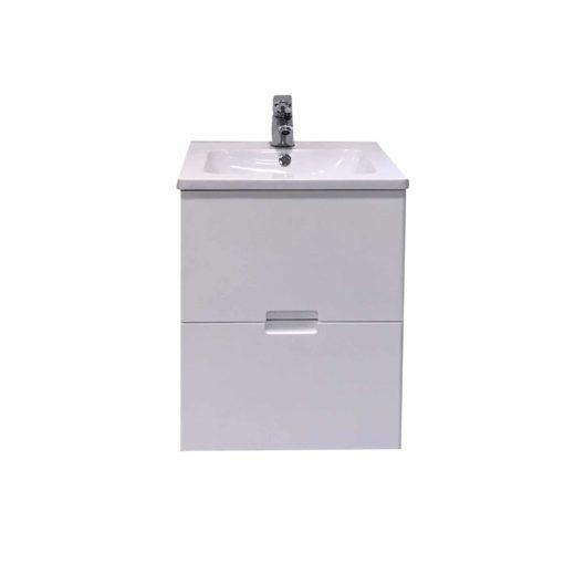 QBad Lysekil Tvättställskommod vit 45 cm