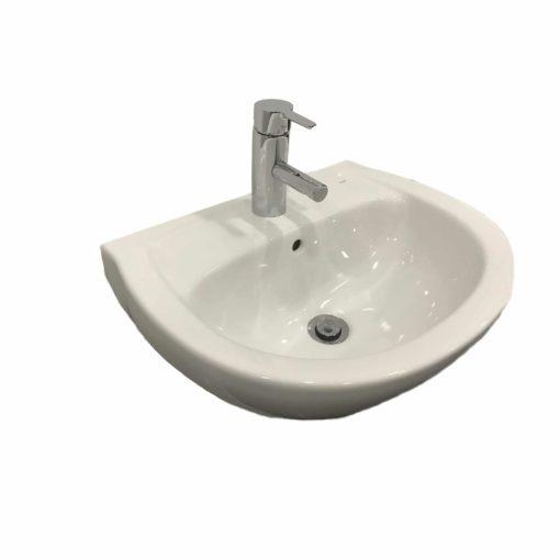 Tvättställspaket QBad Basic med Oras Saga 3910F