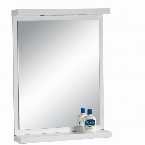 QBad Sjötorp Spegel Vit 60cm