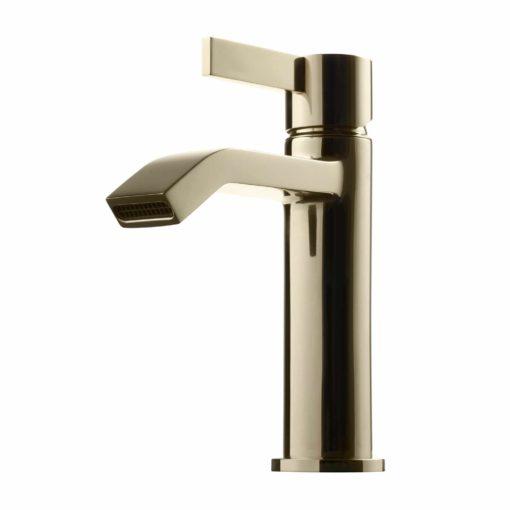 Tapwell Arman ARM071 Tvättställsblandare White Gold