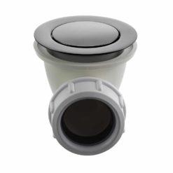 Tapwell 22200 Bottenventil för badkar Black Chrome