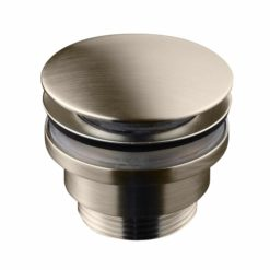 Tapwell 74400 Bottenventil Brushed  Nickel