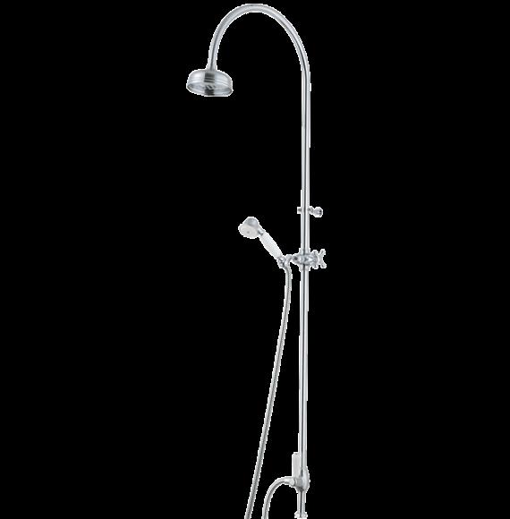 Mora Classic Family Duschanord krom, dusch sil Ø120 mm, G¾