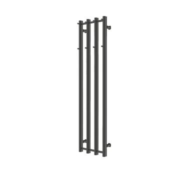 Alterna Handdukstork Calore 4 Pinnar 351X1400 Mattsvart