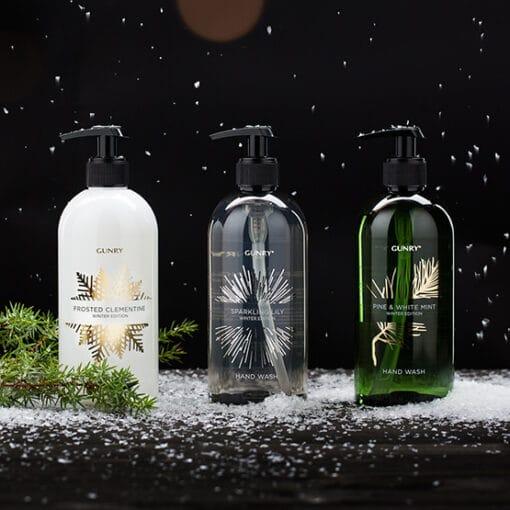 Handtvål Gunry Winter Edition Pine & White Mint