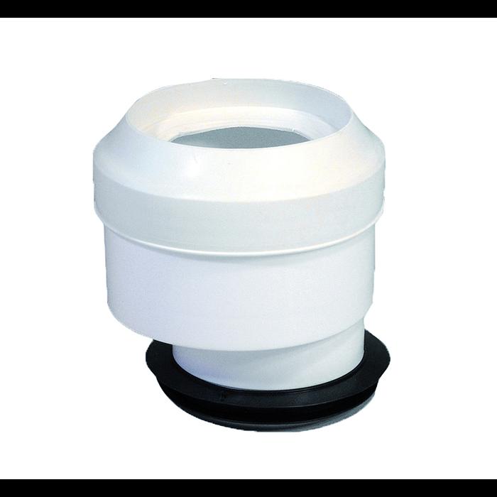 WC-anslutning Excentrisk 0-13 mm