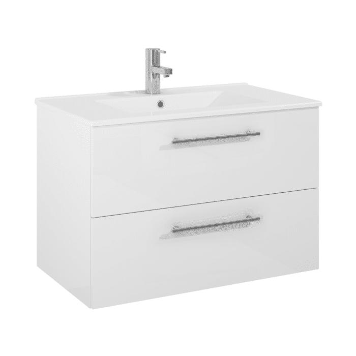 vit tvattstallsskap 80 cm
