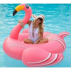Uppblåsbar Flamingo stor