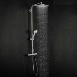 Takduschset Hansgrohe Crometta E Showerpipe 240 1jet