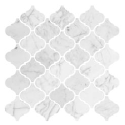 Bricmate Marmormosaik U Baroque Carrara Polished 66x67