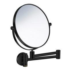 Sminkspegel Svängbar Arm Svart 5x Smedbo Outline