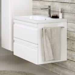 Tvättställsskåp Kame Terra Vit 60 cm