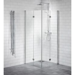 Duschdörrar vikbara