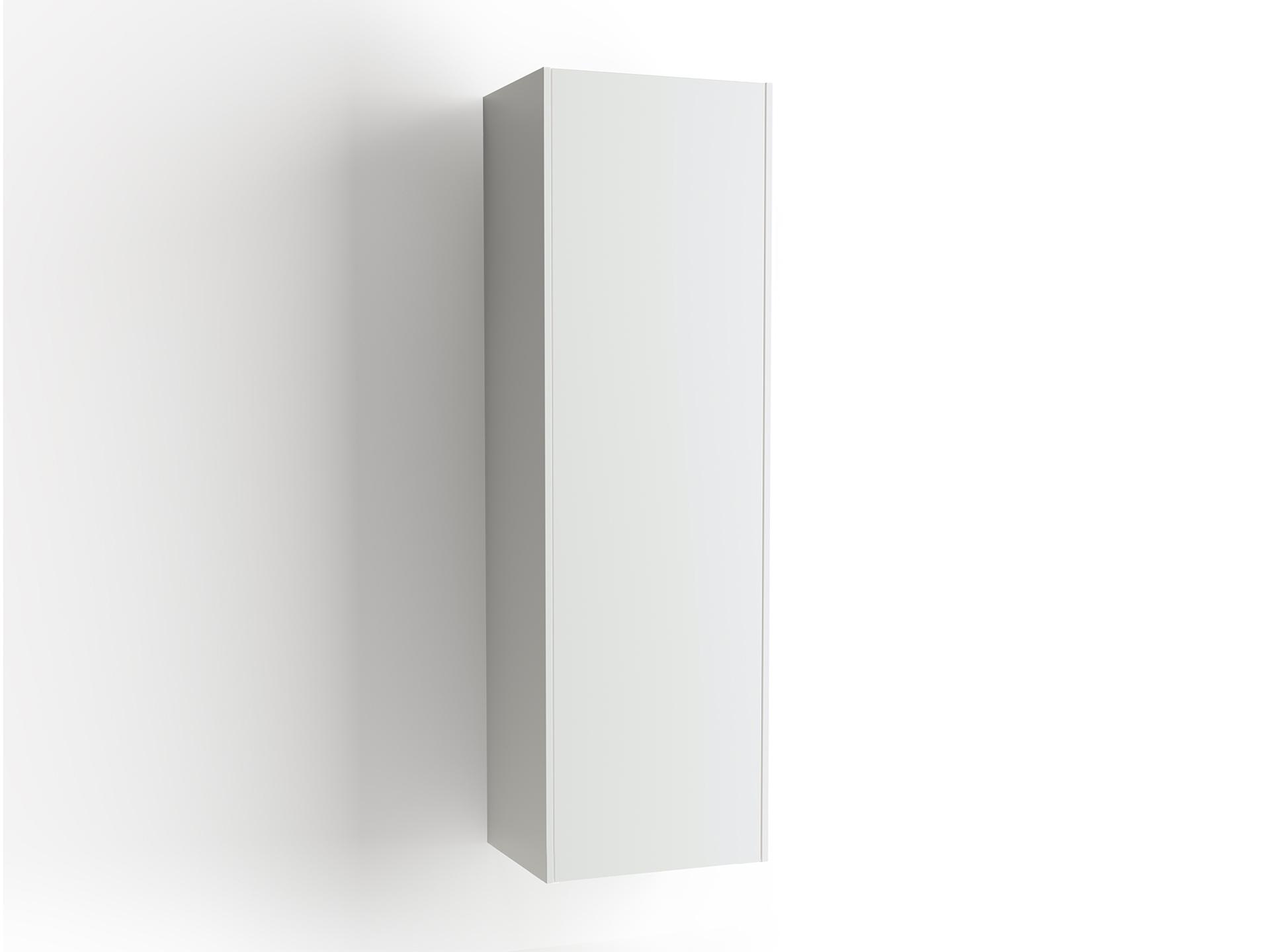 Högskåp Vedum Bas Frame Moa 50 cm Vit Vänsterhängd