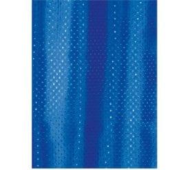 draperi blå