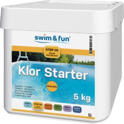 Klor Starter Fast Dissolving Granules 5 kg Swim & Fun