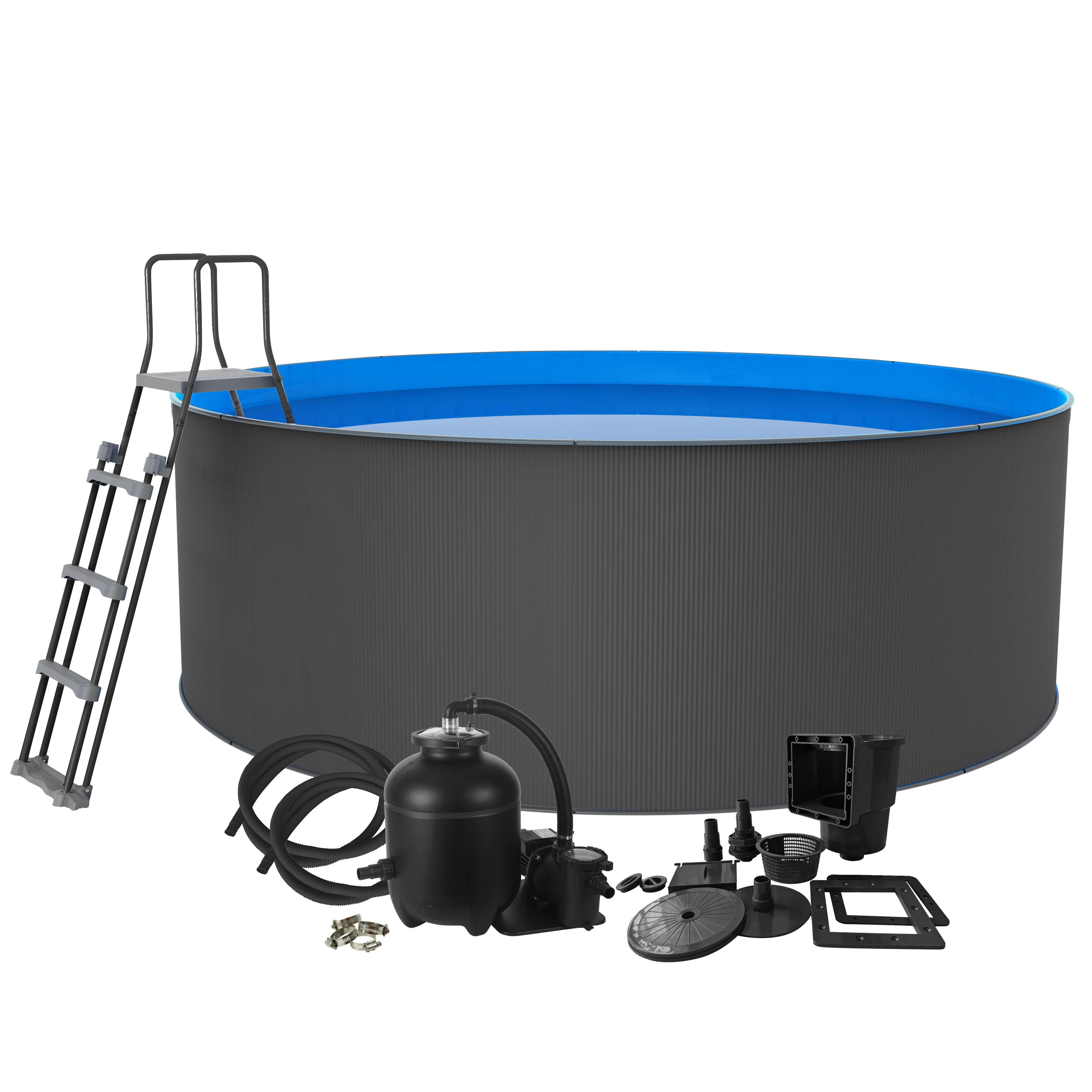Pool Santorini 90 Ø460 cm Swim & Fun