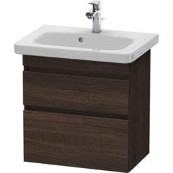 Tvättställsskåp Mörk Kastanj 58 cm Duravit
