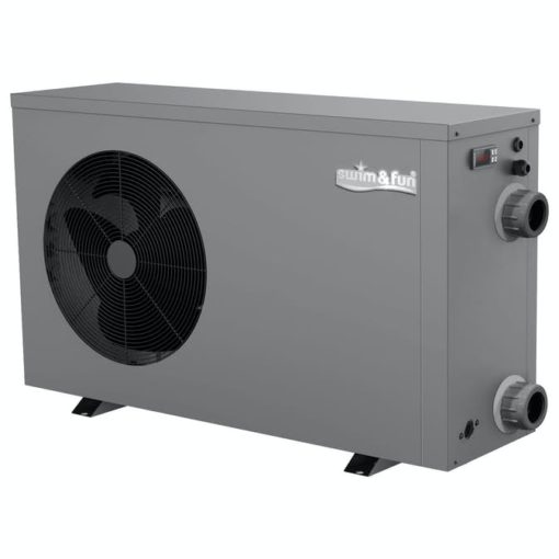 Värmepump 5,5kw. Metal cabinet, Display controler, R32 Swim & Fun
