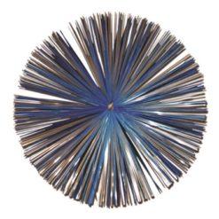 Nylon/Stålborste 125mm