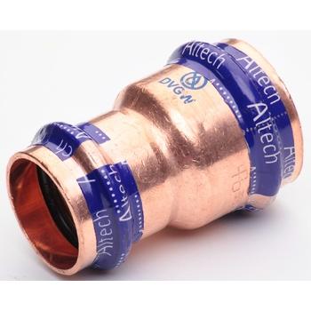 Kopparpress 15x12 mm Förminskning 2 Muff Altech Press V-profil