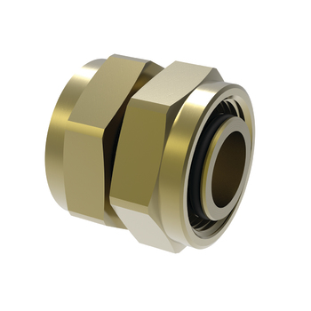 Dubbelmutter V6 15x15 mm Vatette