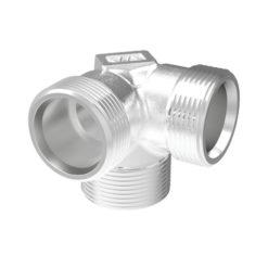 Hörnrör V6 15 mm Förkromad Vatette